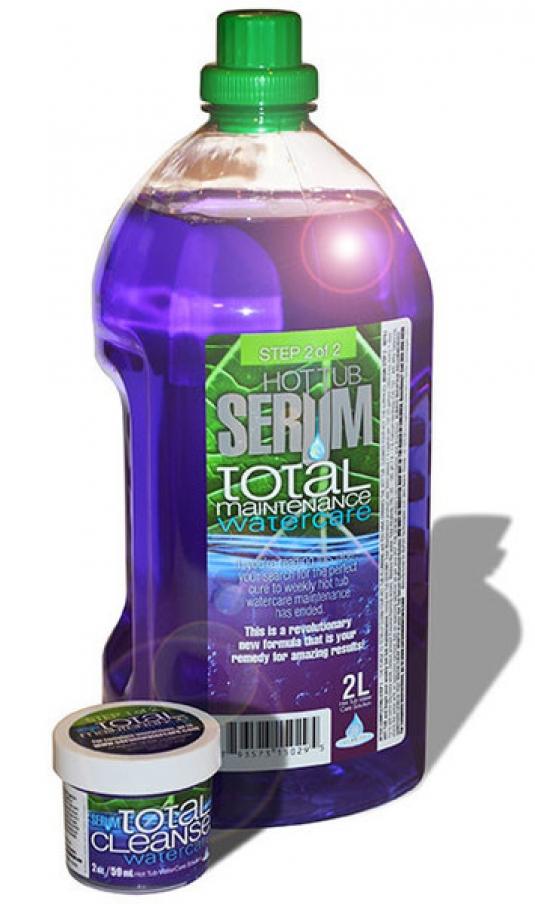 Hot Tub Serum Total, pipe scrubbing cleaner   Poseidon