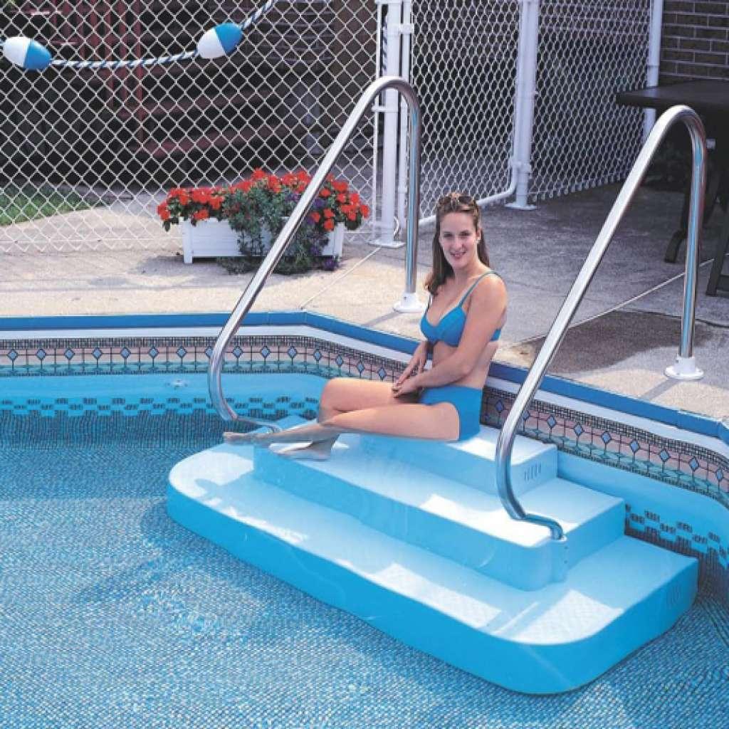 marches pour piscine creus e accessoires de piscine poseidon. Black Bedroom Furniture Sets. Home Design Ideas
