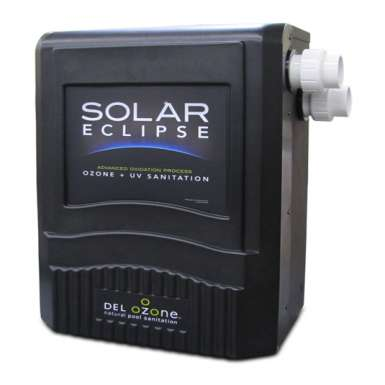 Solar Eclipse, combined Ozone Generator and UV