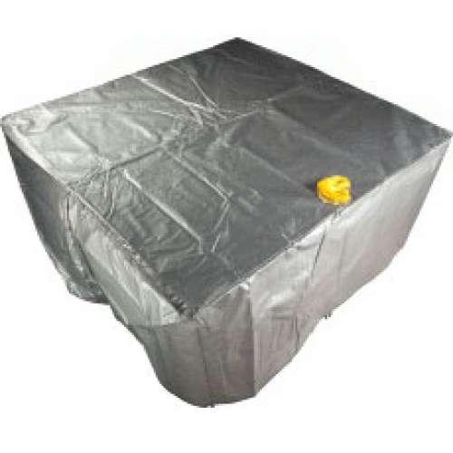 toile d 39 hiver compl te pour spa fermeture spa pos idon. Black Bedroom Furniture Sets. Home Design Ideas