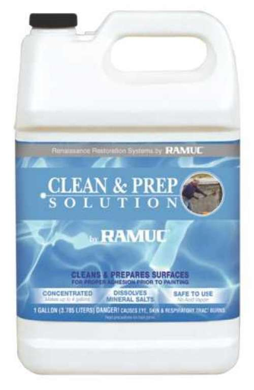 Solution Ramuc Clean And Prep pour piscines et terrasses