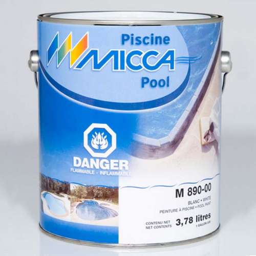 Pool paint based on chlorinated copolymer - Micca